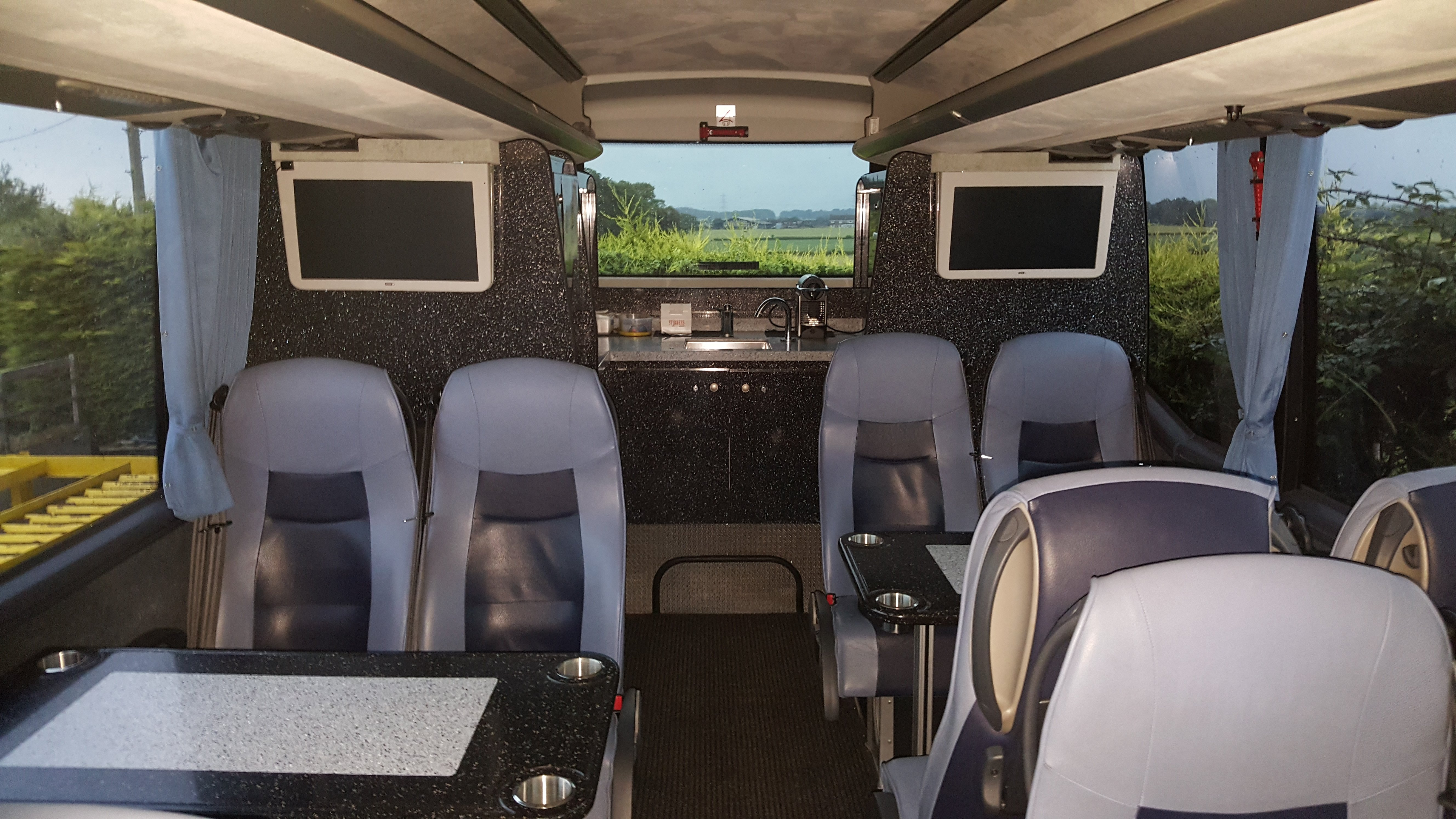 Interior 30 Seater Corporate Class